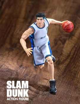 GREAT TOYS Dasin Ryonan Kicchou Fukuda pvc action figure SLAM DUNK GT model toy brinquedos NO.13 - DISCOUNT ITEM  24 OFF Toys & Hobbies