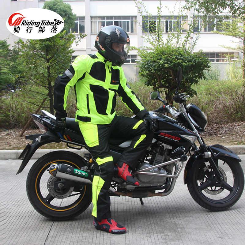 Летняя мотоциклетная Мужская Женская куртка мотоциклетная Защитная куртка мужская гоночная Светоотражающая оксфордская одежда Мотоциклетные Куртки