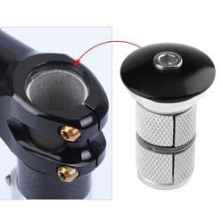 Liga de alumínio parafuso expansão fibra carbono pendurado coração bicicleta fone ouvido parte ajustável 24.5mm 28.6mm garfo dianteiro acessórios da bicicleta