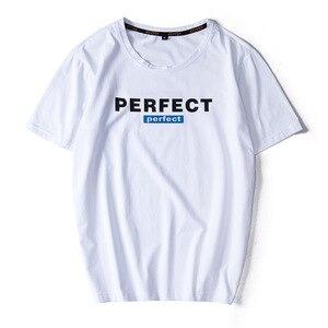 Image 2 - Camisetas informales de alta calidad para hombre, camisetas a la moda en negro, blanco y rojo, camisetas holgadas de estilo HIP HOP de gran tamaño L 6XL 7XL 8XL 9XL, 2020
