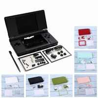 New Full Housing Cover Case Replacement Shell For Nintendo DS Lite DSL NDSL 0323
