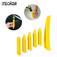 ITECHOR 6 Pcs Auto Dent Repair Pen Set Dent Restoration Tool Auto Body Repair Tools Dent