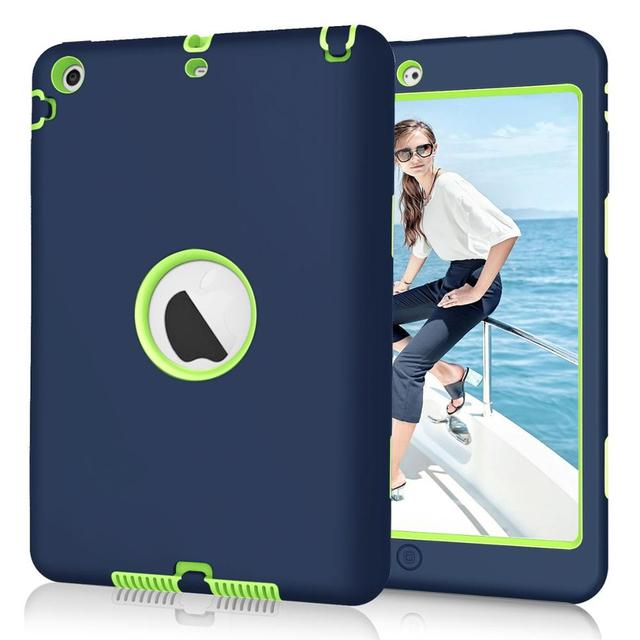 Kids Safe Shockproof Silicone Case Cover for iPad Mini 1/2/3 Retina