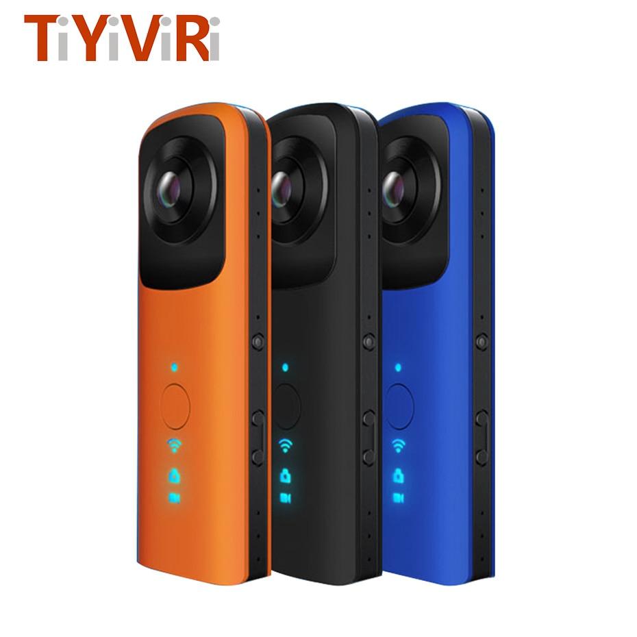 VR Panoramic 360 Camera Fisheye Dual Lens Handheld Video Camera font b Virtual b font font