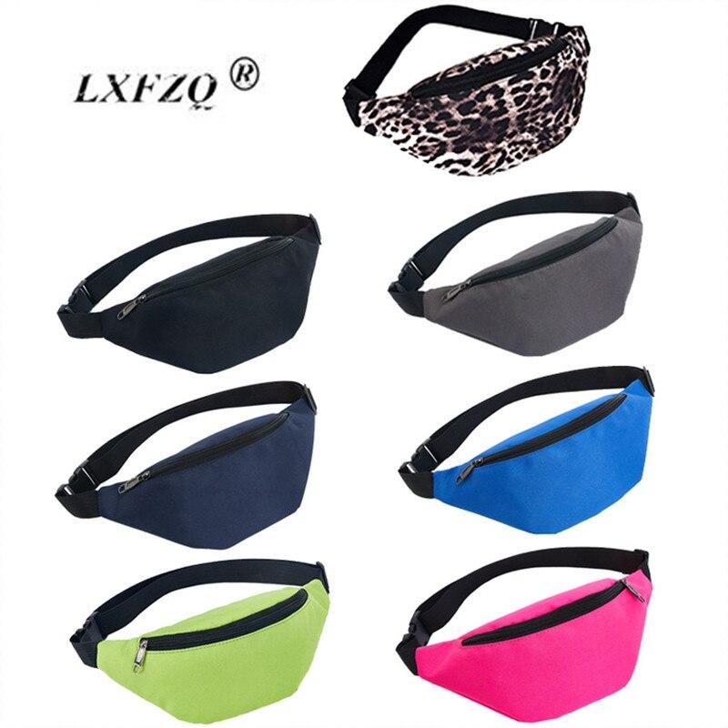 LXFZQ Pink Waist Bags New Fanny Pack Female Belt Bag Waist Packs Chest Phone Pouch Bolsa Feminina Hip Bag Belt Pouch Banana Bag