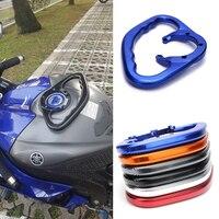 Passenger Handgrips For Yamaha R1 R6 FZ07 MT03 MT07 MT09 MT 25 MT 03 Motorcycle CNC Hand Grip Tank Grab Bar Handles Armrest