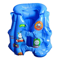 2-5 años Niño Nadar Chaleco Niño Chaleco Salvavidas Inflable para Bebé Pesca Chaleco Flotador de Natación Círculo Anillo de Natación Accesorios de la piscina