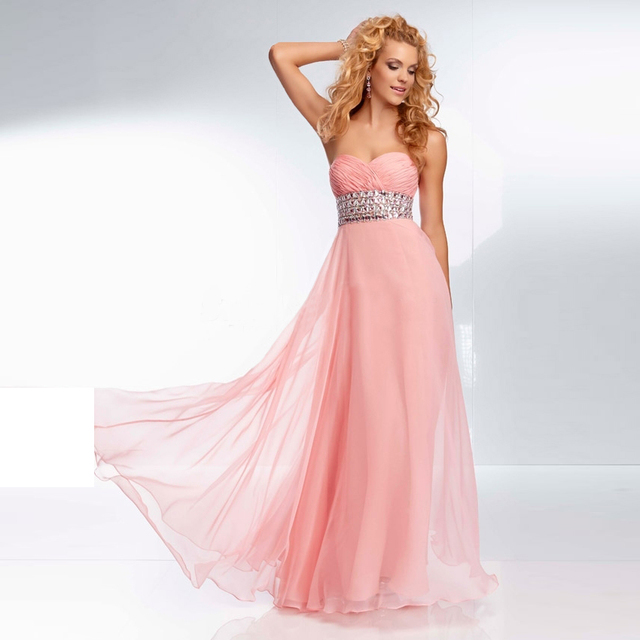 Lujoso Vestidos Sin Tirantes De Baile Ornamento - Ideas de Estilos ...