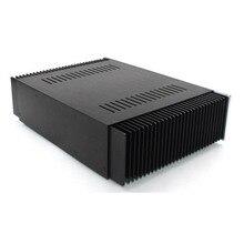 علبة مكبر للصوت من KYYSLB ذاتية الصنع WA61 هيكل مكبر للصوت المنزلي من الألومنيوم بالكامل فئة A علبة صندوق تضخيم مكبر للصوت علبة اصنعها بنفسك
