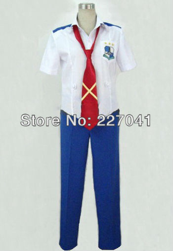 Macross Frontier Saotome Alto uniform Halloween Cosplay Costume Free Shipping A0137