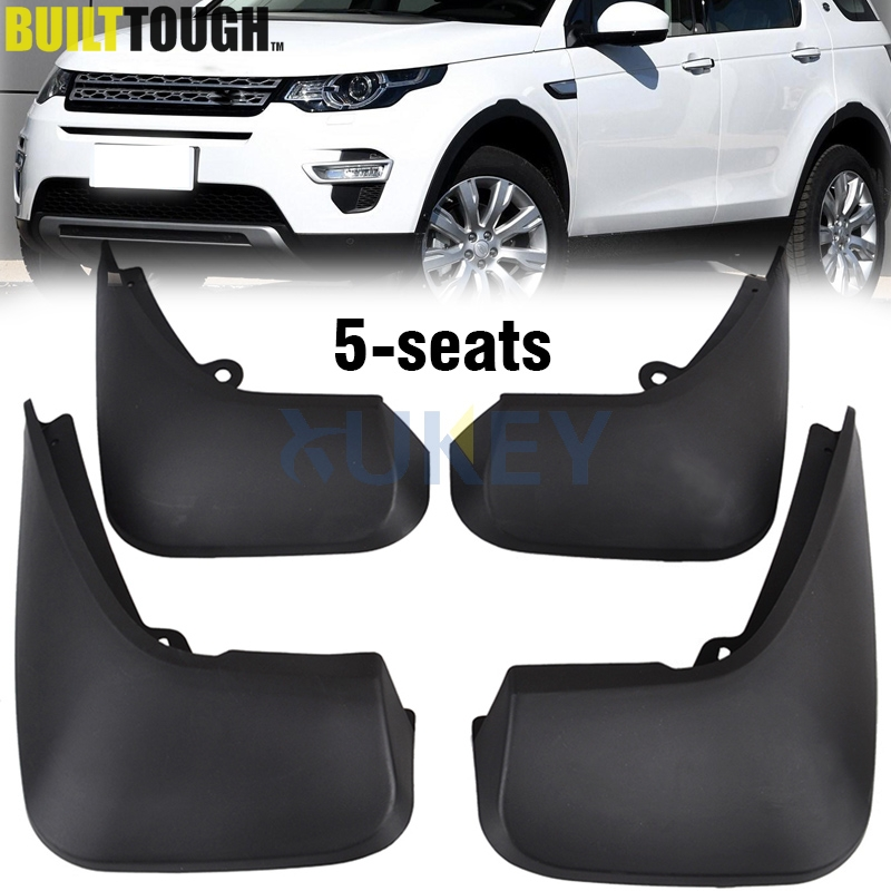 FIT FOR LAND ROVER DISCOVERY SPORT 5 SEATS 2015 2018 MUDFLAPS MUD FLAP SPLASH GUARD MUDGUARDS