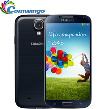Original Unlocked Samsung Galaxy S4 SIIII i9500 Cell phone 16GB / 32GB ROM Quad-core 13MP Camera Quad Core NFC GPS Refurbished