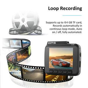 Image 3 - Podwójny obiektyw GS63D WiFi FHD 1080P przednia kamera na deskę rozdzielczą Novatek 96660 kamera wbudowana GPS + VGA tylny samochodowy rejestrator dvr 2880x2160 P