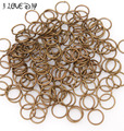 Wholesale 300pcs in bulk Open Gold Jump Rings 4mm Jewelry Findings for Jewelry Making