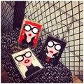 Personality Women Acrylic Shoulder Bag 2017 new Fashion Ladies Perfume Bottle Metal Ring Lock Box Crossbody Evening party Bags