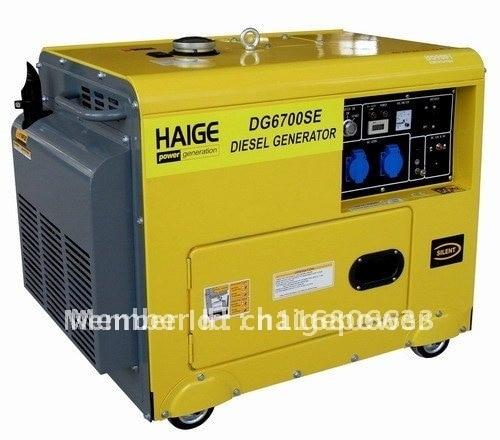 5.5kw super silent diesel generator