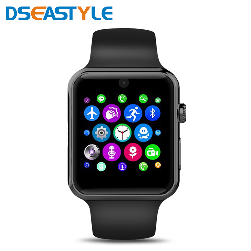 LF07 Bluetooth Smart Watch Phone Support SIM Card Wearable Devices Wrist Smartwatch For IOS Android Smartphone