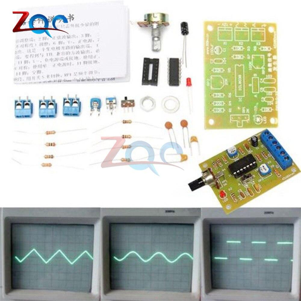 1 ensemble ICL8038 Module de générateur de Signal de fonction monolithique kit de bricolage Triangle carré sinusoïdale