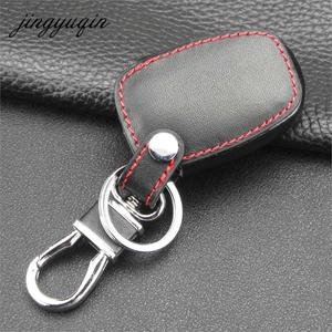 Image 3 - jingyuqin 2 Button Remote Key Fob Leather Case For Vivaro Movano Renault Traffic Kangoo For NISSAN Opel Car Key Protect Holder