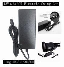 NUEVA 42 V 1.5A Cargador de Batería Universal, fuente de Alimentación 100-240VAC para Auto Equilibrio Scooter Hoverboard UK/EU/EE.UU./AU Plug