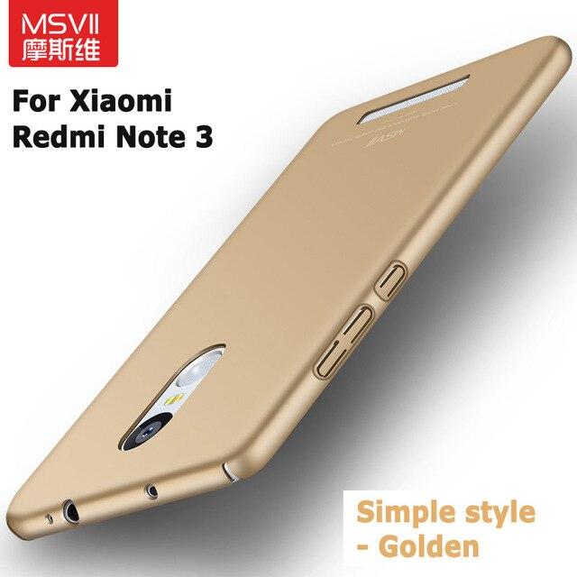 """MSVII Cases For Xiaomi Redmi Note 3 Case Cover For Xiaomi Redmi Note 3 Pro Case Slim PC Cover For Xiomi Redmi Note3 Cases 5.5"""""""