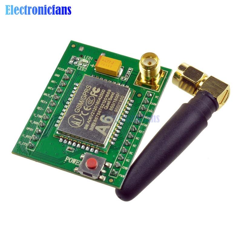 Smart Electronics GPRS Module GSM Module A6 SMS Module A6 \ SMS \ Speech \ Board