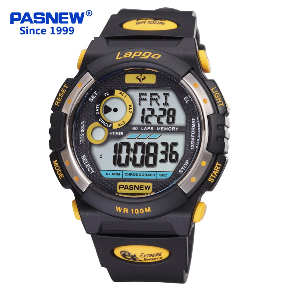 Pasnew Cool Top Brand Men Multifunctional Digital Luminous 100M Waterproof Military Swimming Diving Sports Watches PLG-1015DPasnew Cool Top Brand Men Multifunctional Digital Luminous 100M Waterproof Military Swimming Diving Sports Watches PLG-1015D