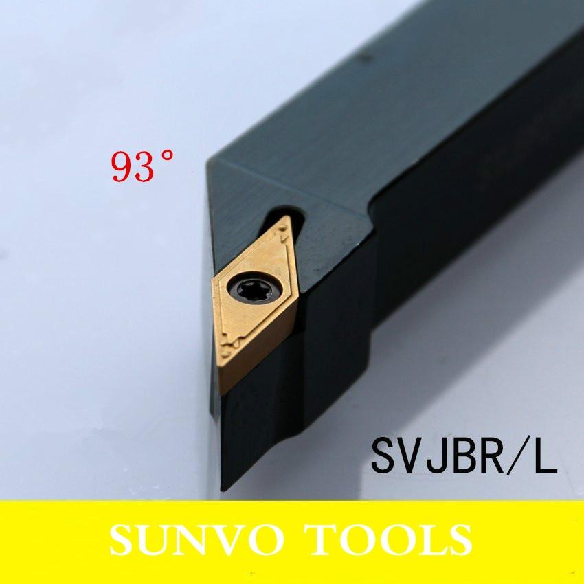 SVJBR/SVJBL 2020K11/2020K16 Use Carbide Insert VCBT VCMT VCGT 110304/110308/160404/160408 External Turning Tools Holder