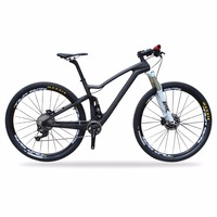 High End XT 11 Speed Groupset 29er Full Carbon Mountain Bicycle Suspension MTB Bike