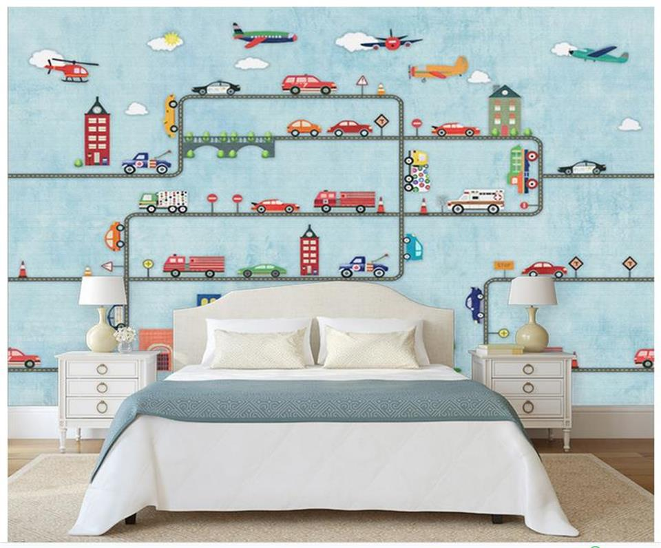 custom size 3d photo wallpaper living room kids mural hand drawn rail car 3d painting background non-woven wallpaper for wall 3d book knowledge power channel creative 3d large mural wallpaper 3d bedroom living room tv backdrop painting wallpaper