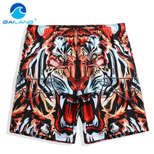 Gailang Brand Board Shorts Beach Boxer Trunks Short Bottoms Pants Quick Drying