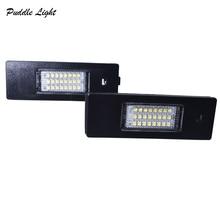 цена на 2x 24SMD Led Number License Plate Light Lamp For Alfa Romeo 147 156 159 166 Brera Spider BMW E81 E87 F20 F21 Z4 E85 E86