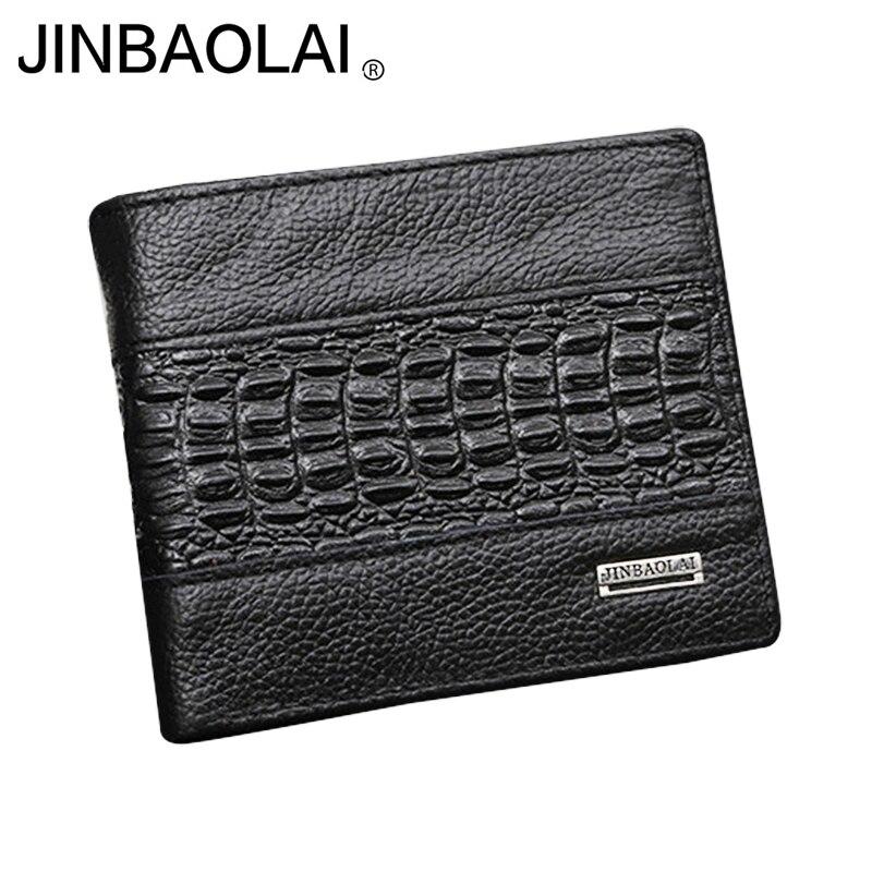 Organizer Wallet Crocodile-Pattern Money-Bag Credit-Card-Holders Dollar Bill Fashion