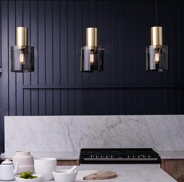 Nordic Danish bedside chandelier post modern minimalist design fashion creative clothing store restaurant bar lamp led lighting