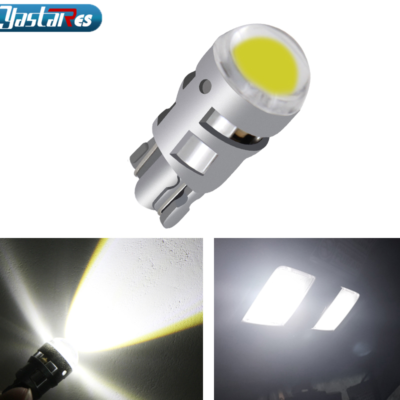 1pcs <font><b>T10</b></font> 168 194 2825 <font><b>W5W</b></font> LED For <font><b>Cree</b></font> Chip Led Replacement Bulbs Car License Plate Parking Lights Car Styling Car Light Source image