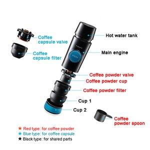 Image 3 - แบบพกพาเครื่อง Nespresso Mini เครื่องชงกาแฟร้อนและสกัดเย็น usb ไฟฟ้าผงกาแฟ & แคปซูลกลางแจ้ง Home Travel