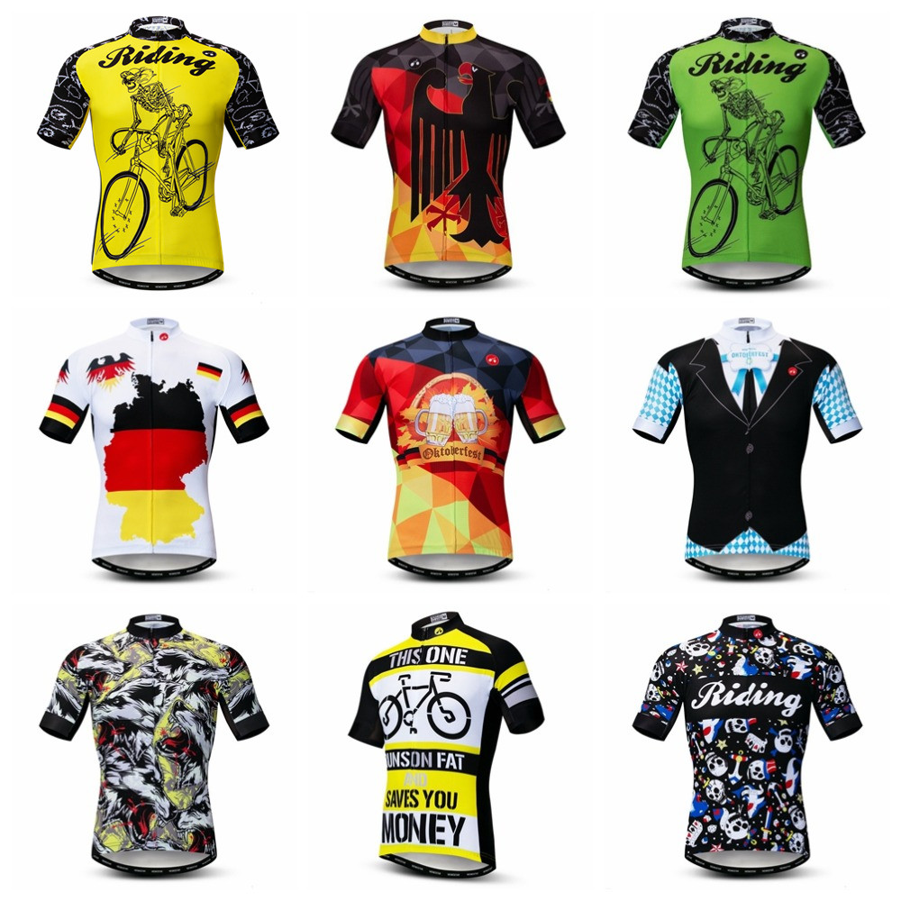 World Jerseys Germany Mens Cycling Jersey bike bicycle german