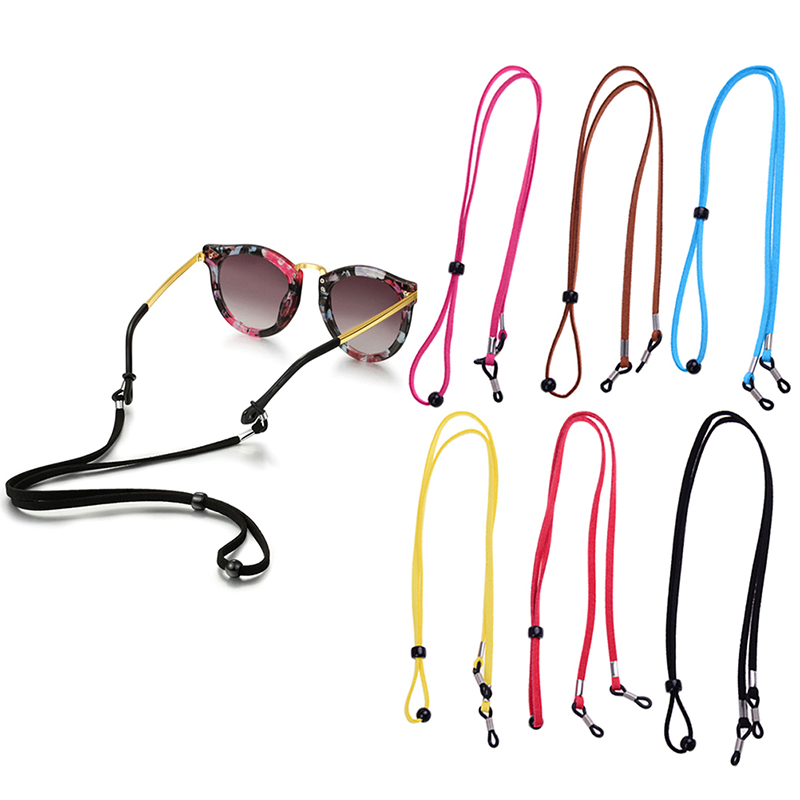 Eyeglasses Neck Strap 1PC Sports Read Glasses Cord Anti-skid Sunglass  Rope Lanyard Holder Rope 10 Clours