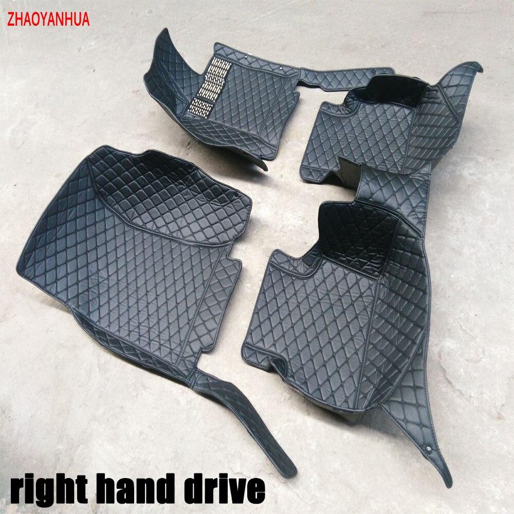 Rubber floor mats for glk350 - Custom Fit Right Hand Drive Car Floor Mats For Mercedes Benz Gla W203 S203 C204 S205