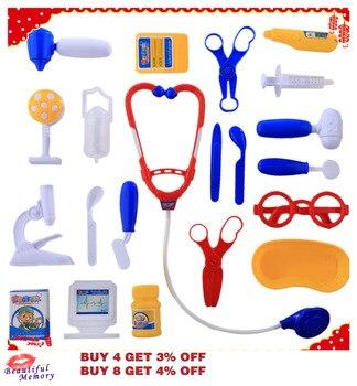 Niñas Niños Regalos Equipo Educativos Unidsset Kit Jugando Doctor Herramientas Para Juguetes 21 Médico jGSzLMVpqU