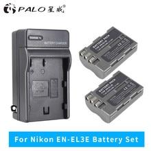PALO EN-EL3e EN EL3e EL3a ENEL3e Batterie pour Appareil Photo Numérique Nikon D300S D300 D100 D200 D700 D70S D80 D90 D50 L50