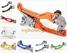 Для KTM 200 EXC 2000 - 2008 ЧПУ Рычаги поворотного тормоза сцепления пара 8 цветов 2007 2006 2005 2004 2003 2002 2001