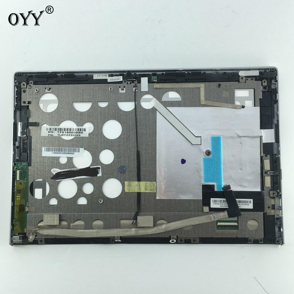 Panneau D'affichage à CRISTAUX LIQUIDES Écran Moniteur MCF-101-1151-V3 Écran Tactile Digitizer Assemblée Verre avec cadre Pour Lenovo Miix 2 10 Miix2 10