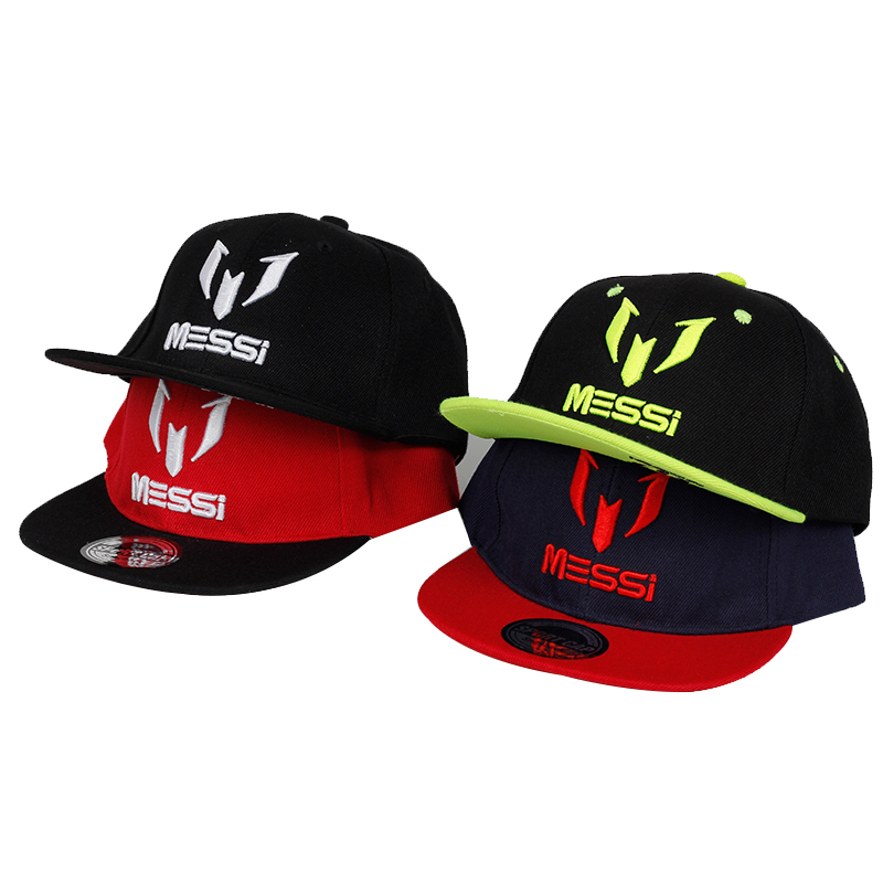 New Fashion Children Ronaldo Neymar Baseball Cap Hat Boys Girls Kids Big Bone Embroidery MESSI Snapback Hats Hip Hop Caps Gorras