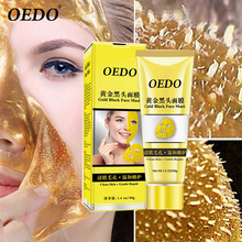 OEDO Face Mask Gold Remove Blackhead Mask Acne Treatment Facial Moisturizing Cream Shrink Pore Skin Care bioaqua brand double color mask mud moisturizing nourishing deep cleaning skin pore acne blackhead treatment facial care cream