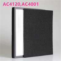 Air Purifier Parts Activated Carbon dust Collection HEPA filter AC4120 for Philips AC4001
