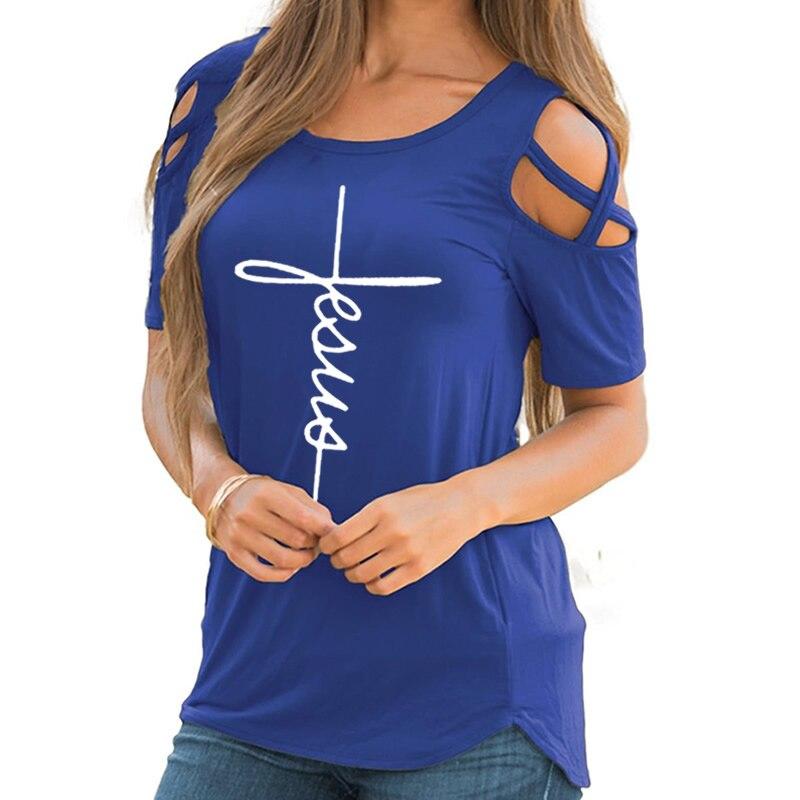 off the shoulder t-shirt