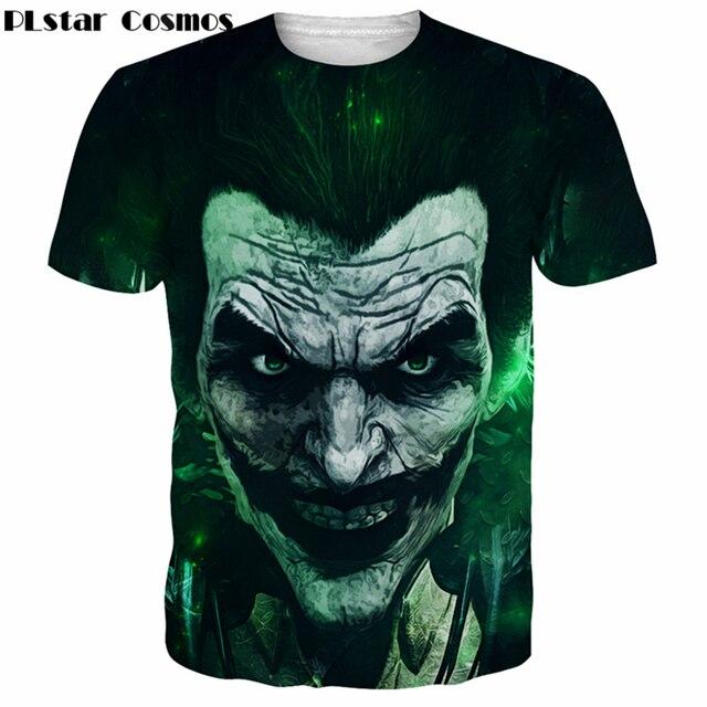 Us 9 48 27 Off Plstar Cosmos Dc Anime Fashion Short Sleeve T Shirts Funny Joker Harley Quinn 3d Print Men Women Summer Harajuku Tee Shirts In