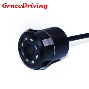 2018 New Waterproof CCD Universal  rear view camera  8LED  Night Vision Reversing Car Camera HD Car Rear view  Parking Camera