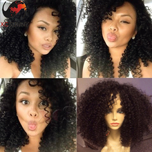 6A Remy Indian Hair Natural Hair Perruque Cheveux Humain Full Lace Human Hair Wigs With Bangs Short Curly Human Hair Bob Wigs